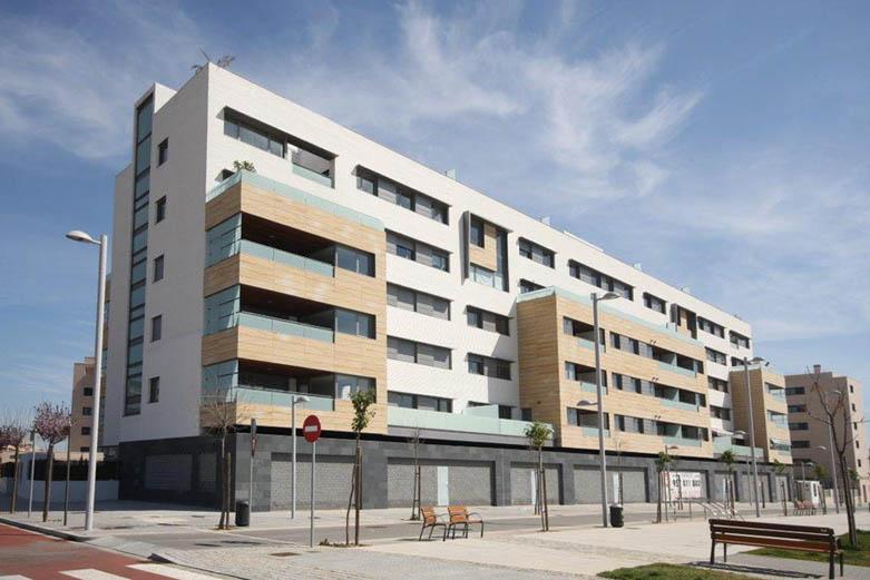 VISTA GENERAL 42 viviendas Cordoba