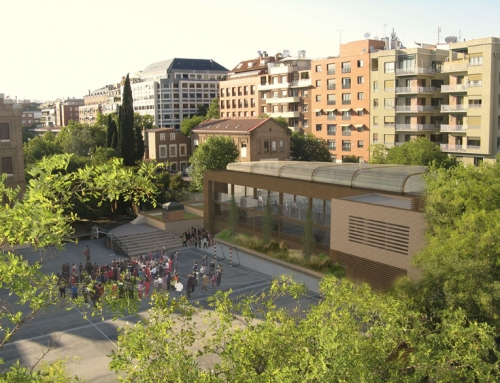 Polideportivo y piscina cubierta en el colegio Ntra. Sra. de Loreto. Madrid